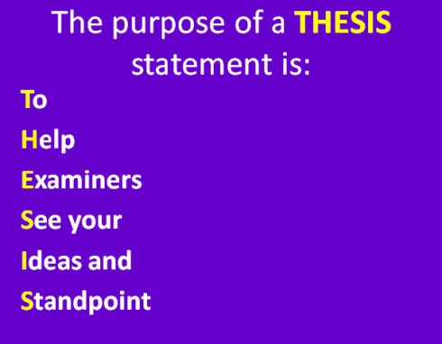 can a thesis statement be a question When you can answer these questions, then you can begin to refine the thesis statement as you work on your thesis, remember to keep the rest of your paper in mind at all times  sometimes your thesis needs to evolve as you develop new insights, find new evidence, or take a different approach to your topic.