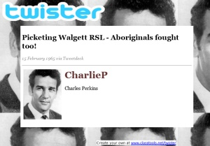 TWEET - CharlieP in Walgett